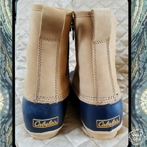 0efa81f91a1 Cabela's Women's Side-Zip Pull-On Duck Boots
